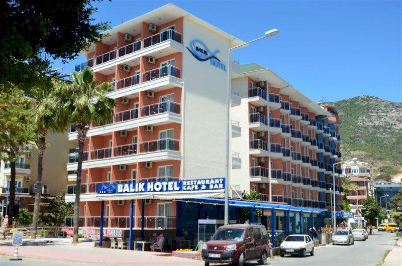 kleopatra balık hotel alanya